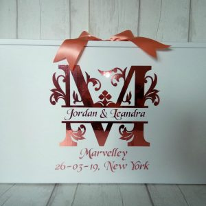 monogram airline travel box