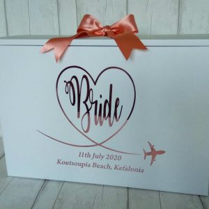 wedding dress box for plane