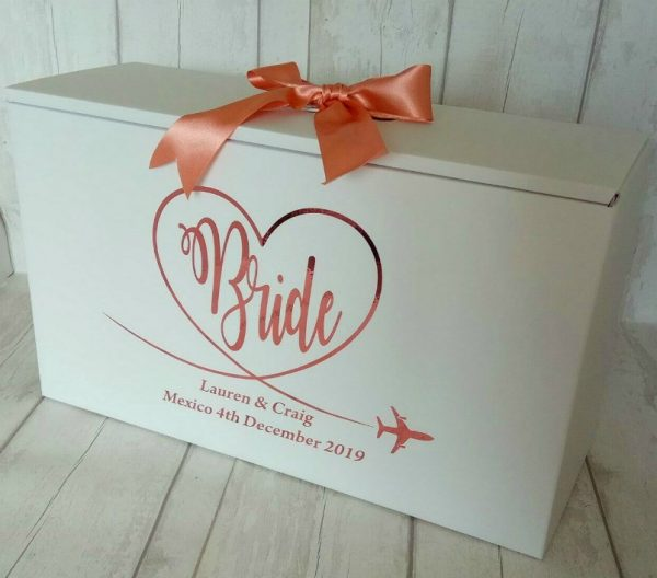 stunning bride travel box